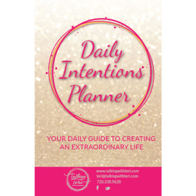 daily intentions planner