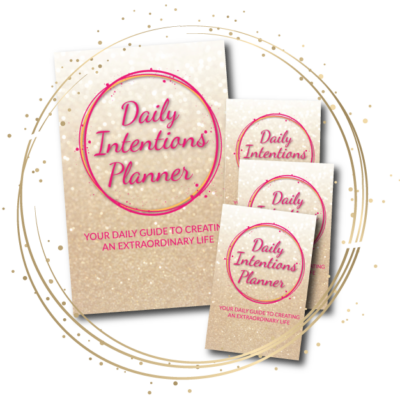 daily intentions planner gratitude journal