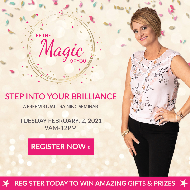 step into your brilliance free event